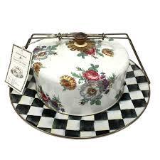 mackenzie childs vase giftsden mackenzie childs courtly check u0026 fresh white pressed