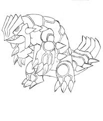 groudon pokemon coloring pages coloring pages kids