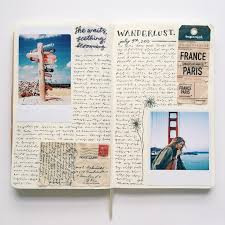 travel journals images How to keep a travel diary all about sana jpg