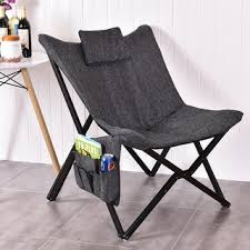 Butterfly Folding Table And Chairs Homcom 37 Inch Fabric Folding Butterfly Chair Free Shipping