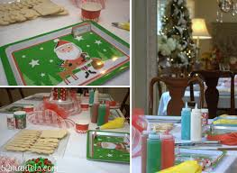 52 mantels hosting a kids u0027 christmas cookie party