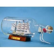 ship in a boat ship decorative objects you ll wayfair