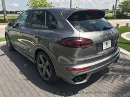 porsche cayenne blacked out 2018 new porsche cayenne gts awd at porsche west broward serving