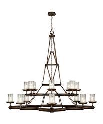 Ceiling Art Lights by Fine Art Lamps 860540 Liaison 58 Inch Wide 16 Light Chandelier