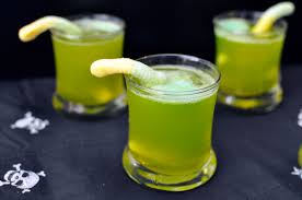 halloween party alcoholic drinks recipe spooky sparkling punch rockin mama