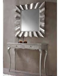 Entrance Tables And Mirrors Contemporary Console Table And Mirror Set 33c41
