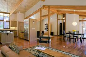 combination of wooden furniture and modern decoration 4 home decor