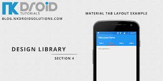 android toolbar tutorial android tablayout exle with design support library