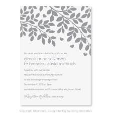 Printable Wedding Invitations Free Printable Wedding Invitation Templates For Word Badbrya Com