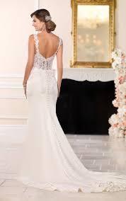 wedding dress casual wedding dresses casual lace wedding dress stella york