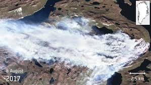 Wildfire From Space by Space In Images 2017 08 Greenland Wildfire