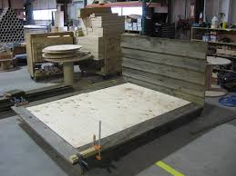 rustic platform bed frame u2014 new decoration reclaimed wood rustic