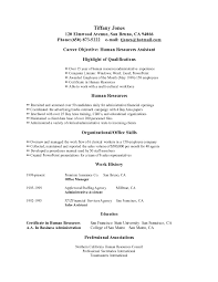 An Objective On A Resume How To Write An Objective In A Resume Berathen Com