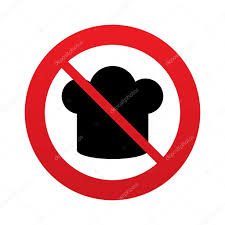 symbole cuisine icône de signe de chapeau chef symbole de la cuisine photographie