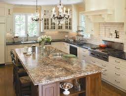 espresso cabinets kitchen contemporary with waterfall edge modern