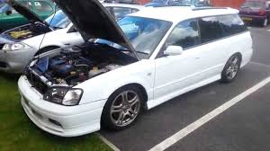 modified subaru legacy wagon gen 3 bh5 subaru legacy gt b twin turbo 300bhp vs renault