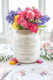 Wildflower Arrangements Spring Flower Arrangements Add Color To A Seasonal Tablescape
