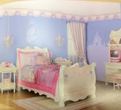 Castle Bedroom Furniture by Well Liked White Valance Shade For Single Princess Bed Added