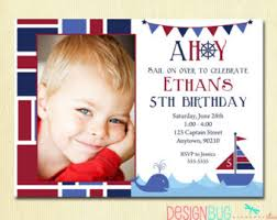 the big one first birthday baby boy invitation custom photo