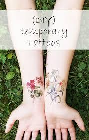 temporäre diy tattoos nur noch