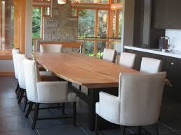 furniture large dining room table new live edge dining room