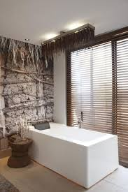 Natural Textures Meet Modern Interiors At The Olive Exclusive - Organic bathroom design