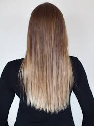 brown and blonde ombre with a line hair cut best 25 straight ombre hair ideas on pinterest balayage