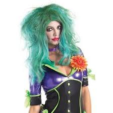 Womens Joker Halloween Costume Female Joker Wig Womens Villain Costume Cosplay Halloween