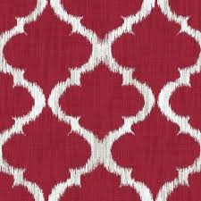 Geometric Curtain Fabric Uk Red Patterned Curtains U2013 Teawing Co