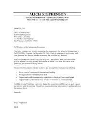 program cover letter