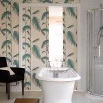 bathroom design ideas country textured bathroom wallpaper designs