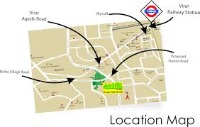 Mumbai Map Location Map Mayfair Virar Gardens At Mumbai Mayfair Housing