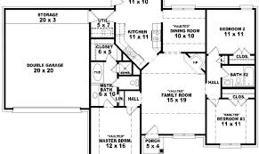 open one story house plans 2 bedroom open concept house plans one story house plans open