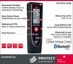 buy leica disto d110 outdoor laser distance meter with bluetooth