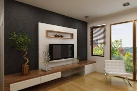 Photos Of Cupboard Design In Bedrooms Elegant White Tv Cabinet With Contrast Wallpaper Ipc338 Lcd Tv