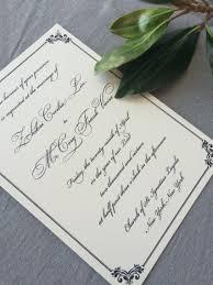 regency wedding invitations sle regency wedding invitation suite cardinal and straw