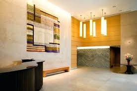 Modern Residential Apartment Lobby Interior Design The - Modern residential interior design