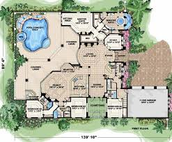 mediterranean house plans with courtyard 9 mediterranean house plans at home source 2 story 4 bedroom