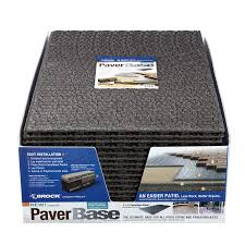 Lowes Trellis Panel Shop Brock 36 In L X 24 In W Interlocking Paver Base Panel At