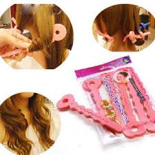 aleeping in petm rods 6pcs pkt 2 in 1 sponge foam perm rods hair curlers rollers magic diy