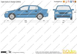 opel astra sedan 2008 the blueprints com vector drawing opel astra g sedan
