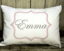 personalized pillows for baby personalized pillow baby name pillow gift