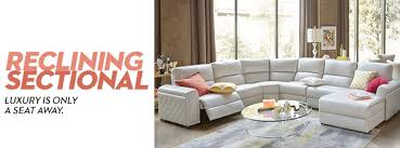 Sectional Sofas With Recliners And Chaise Reclining Sectional Macy S