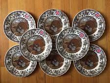 harvest bounty s thanksgiving turkey plates 8