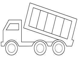 dump truck coloring pages arterey info