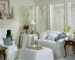 White Wood Blinds Bedroom Faux Wood Blinds
