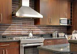 modern tile backsplash ideas for kitchen cool modern look with the thin square set backsplash
