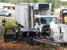 kenworth box truck elderly man injured in truck crash near lake sinclair news