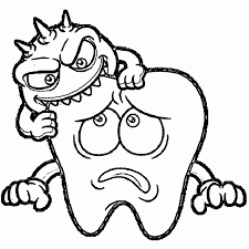 Tooth Coloring Pages Dental Wecoloringpage Draw Dinosaur Teeth Brushing Teeth Coloring Pages