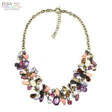 chunky fashion necklace images Buy 2017 new j design women bib collar trendy jpg